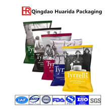 Composited Kartoffelchips besitzen Logo Food Packaging Bag